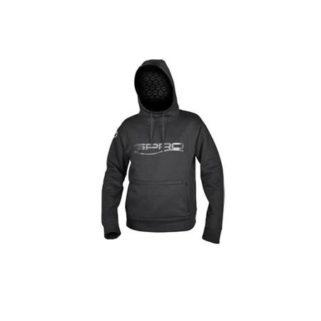 SWEAT HOMME SPRO THERMA A CAPUCHE - NOIR