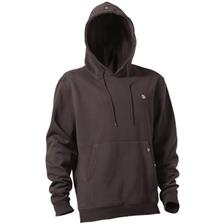 Habillement Trakker ELITE HOODY CHARCOAL MARRON TAILLE M