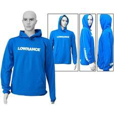 SWEAT HOOD MAN LOWRANCE - ROYAL BLUE