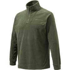 SWEAT POLAIRE HOMME BERETTA HALF ZIP FLEECE - VERT