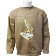 SWEATER BARTAVEL TROUT - OLIVE - 14ans