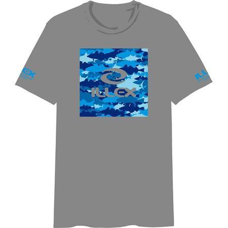 T-SHIRT UOMO ILLEX SEA CAMO - GRIGIA