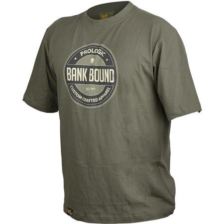 T - SHIRT UOMO PROLOGIC BANK BOUND BADGE - CACHI