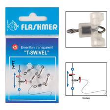 T-SWIVEL TRANSPARENT FLASHMER T-SWIVEL - 50ER PACK