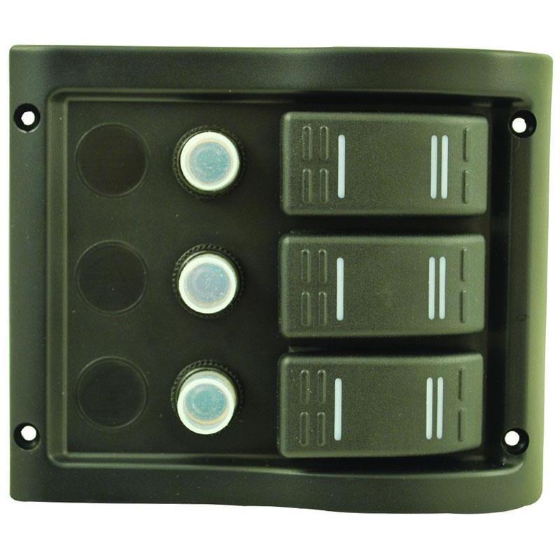 tableau etanche euromarine 3 lignes. Black Bedroom Furniture Sets. Home Design Ideas