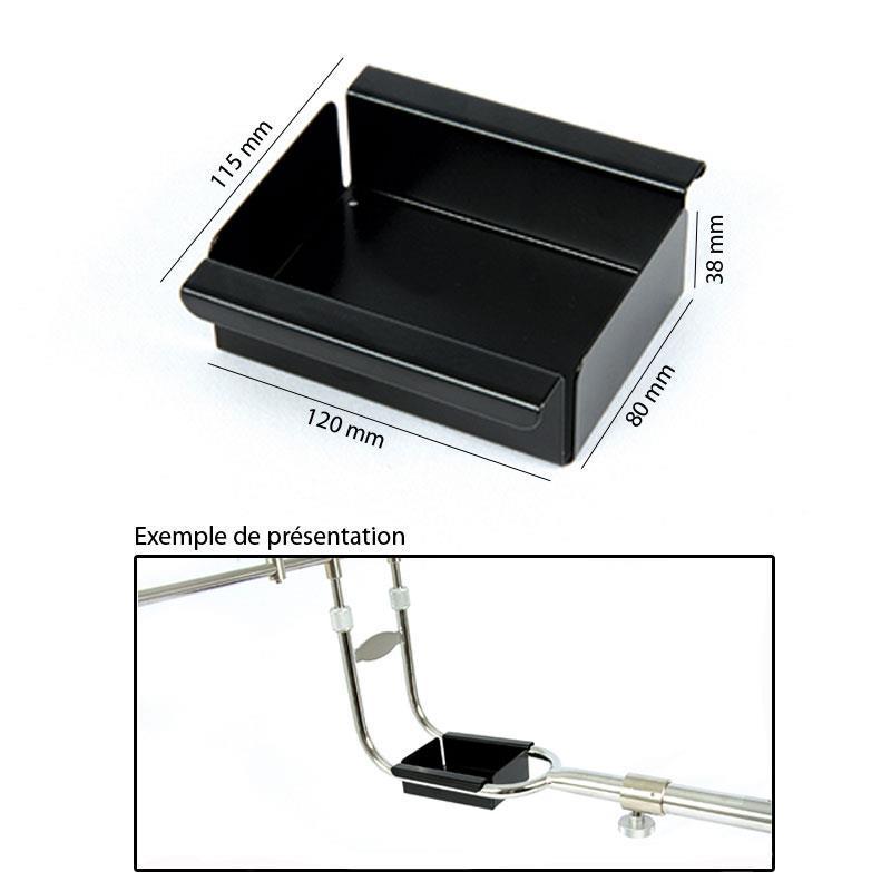 tablette inox amiaud. Black Bedroom Furniture Sets. Home Design Ideas