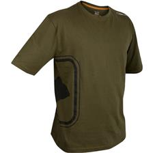 TEE SHIRT HOMME MANCHES COURTES PROLOGIC ROAD SIGN - OLIVE