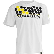 TEE SHIRT MACHES COURTES HOMME TUBERTINI EXA - BLANC