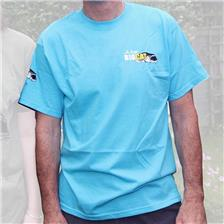 TEE SHIRT MANCHES COURTES BIG CAT BLUE
