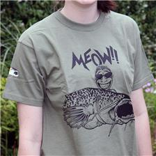 TEE SHIRT MANCHES COURTES BIG CAT MEOW