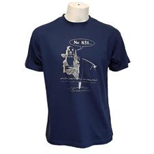 TEE SHIRT MANCHES COURTES HOMME BARTAVEL NO KILL - MARINE