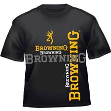 Apparel Browning TEE SHIRT MANCHES COURTES HOMME NOIR TAILLE L