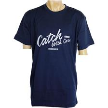 TEE SHIRT MANCHES COURTES HOMME CWC - MARINE