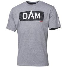 TEE SHIRT MANCHES COURTES HOMME DAM CAMO VISION - GRIS