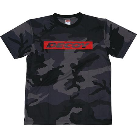 TEE SHIRT MANCHES COURTES HOMME DECOY TS DRY - GRIS/CAMO
