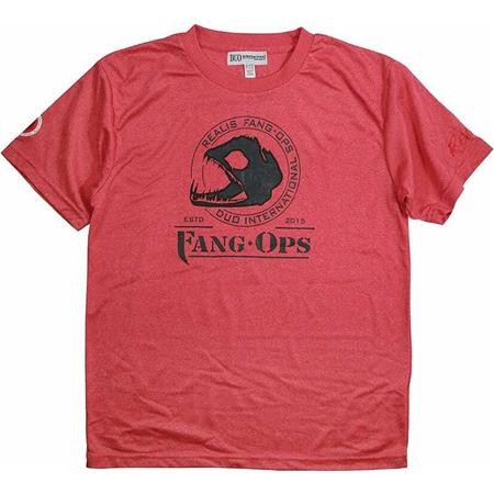 TEE SHIRT MANCHES COURTES HOMME DUO TS FANG-OPS - ROUGE