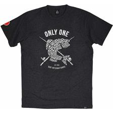 TEE SHIRT MANCHES COURTES HOMME DUO TS ONLY ONE - GRIS FONCE