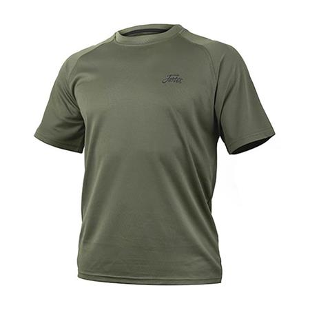 TEE SHIRT MANCHES COURTES HOMME FORTIS DRY TOUCH - VERT