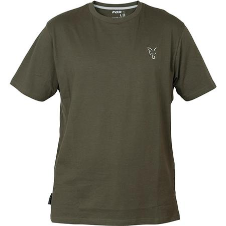TEE SHIRT MANCHES COURTES HOMME FOX COLLECTION GREEN & SILVER T-SHIRT - VERT