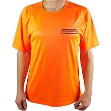 TEE SHIRT MANCHES COURTES HOMME F.P CONCEPTS - ORANGE - M