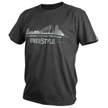 Apparel Freestyle TEE SHIRT MANCHES COURTES HOMME NOIR TAILLE L