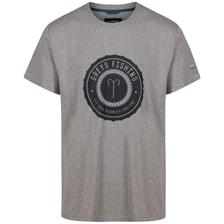 TEE SHIRT MANCHES COURTES HOMME GREYS HERITAGE - GRIS