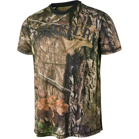 TEE SHIRT MANCHES COURTES HOMME HARKILA MOOSE HUNTER CAMO S/S - MOSSY OAK