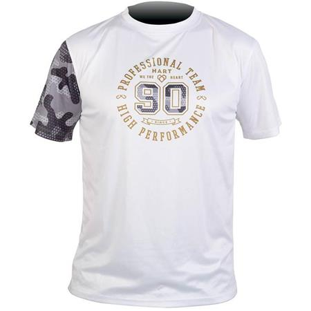 TEE SHIRT MANCHES COURTES HOMME HART VINTAGE TS - BLANC CAMO