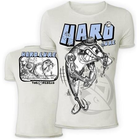 TEE SHIRT MANCHES COURTES HOMME HOT SPOT DESIGN HARD LURE