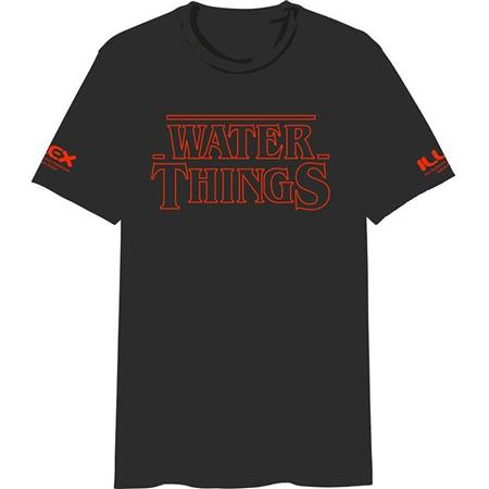 TEE SHIRT MANCHES COURTES HOMME ILLEX WATER THINGS - NOIR