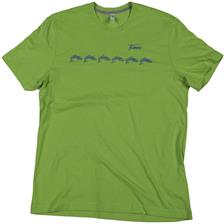 TEE SHIRT MANCHES COURTES HOMME VERT TAILLE S