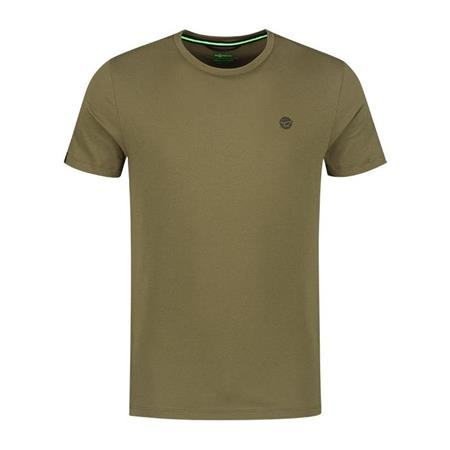 TEE SHIRT MANCHES COURTES HOMME KORDA KORE ROUND NECK TEE - OLIVE