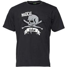 TEE SHIRT MANCHES COURTES HOMME MADCAT SKULL TEE - NOIR