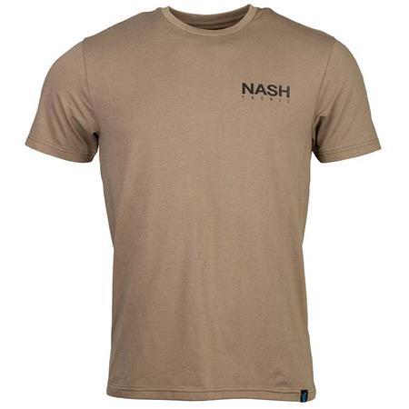 TEE SHIRT MANCHES COURTES HOMME NASH ELASTA-BREATHE T-SHIRT GREEN - KAKI