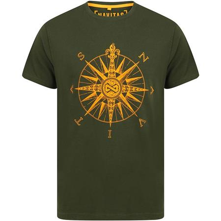 TEE SHIRT MANCHES COURTES HOMME NAVITAS DIRECTION T-SHIRT - VERT