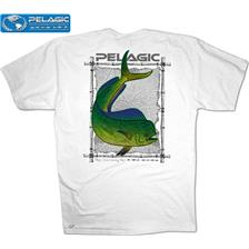 Apparel Pelagic OCP TRIBAL MAHI BLANC TAILLE L
