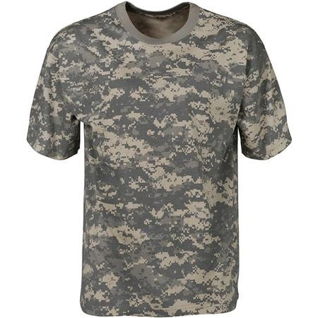 TEE SHIRT MANCHES COURTES HOMME PERCUSSION DIGICAME - CAMO