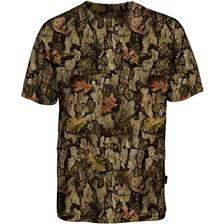 TEE SHIRT MANCHES COURTES HOMME PERCUSSION GHOSTCAMO BARKAM - CAMO