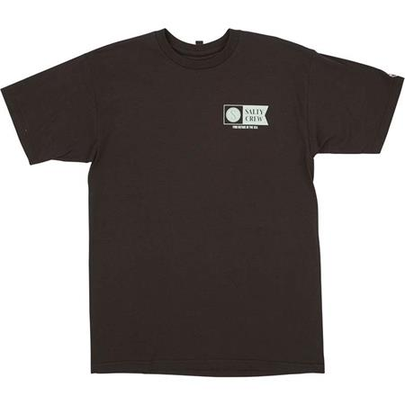 TEE SHIRT MANCHES COURTES HOMME SALTY CREW ALPHA S/S TEE - MARRON