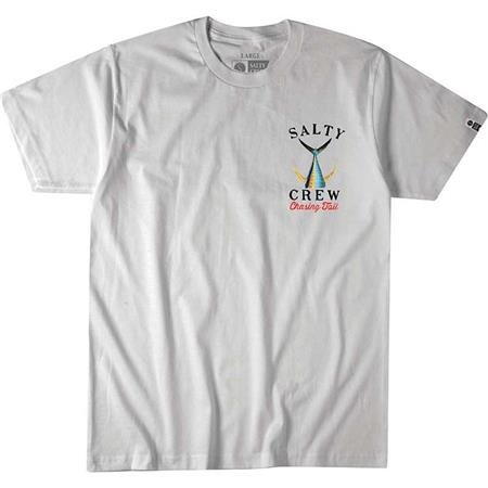 TEE SHIRT MANCHES COURTES HOMME SALTY CREW TAILED S/S TEE - BLANC