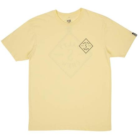 TEE SHIRT MANCHES COURTES HOMME SALTY CREW TIPPET S/S T-SHIRT - JAUNE