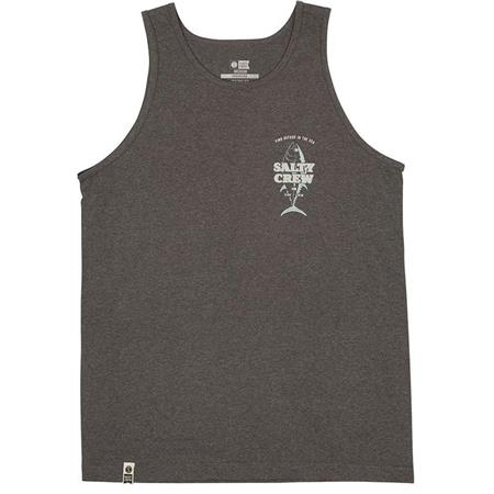 TEE SHIRT MANCHES COURTES HOMME SALTY CREW UP N DOWN TANK - GRIS