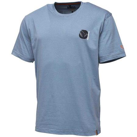 TEE SHIRT MANCHES COURTES HOMME SAVAGE GEAR SIMPLY SAVAGE CO - BLEU