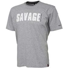 TEE SHIRT MANCHES COURTES HOMME SAVAGE GEAR SIMPLY SAVAGE TEE - GRIS