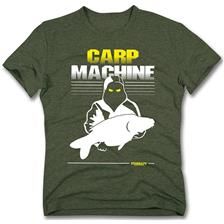TEE SHIRT MANCHES COURTES HOMME STARBAITS CARP MACHINE - KAKI
