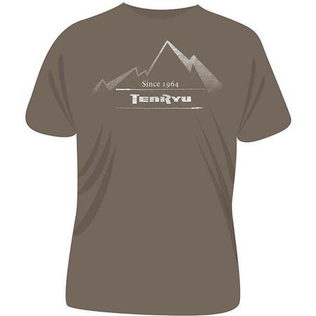 TEE SHIRT MANCHES COURTES HOMME TENRYU MOUNTAIN SAND - KAKI