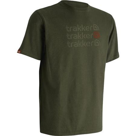 TEE SHIRT MANCHES COURTES HOMME TRAKKER AZTEC KAKI