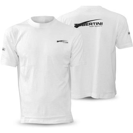 TEE SHIRT MANCHES COURTES HOMME TUBERTINI - BLANC