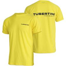 TEE SHIRT MANCHES COURTES HOMME TUBERTINI CONCEPT - JAUNE