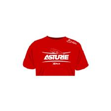 TEE SHIRT MANCHES COURTES HOMME ULTIMATE FISHING ASTURIE - ROUGE